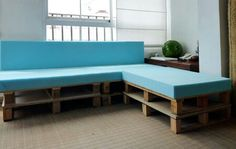 Plankboard couch