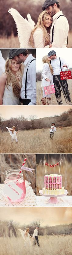 Praise Wedding » Wedding Inspiration and Planning » Creative Valentine's Day Couple Sessions