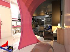 Design global d'un café-concept {parents-enfants} à Lyon (69) Home Café