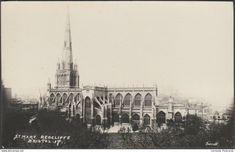 Bristol - St Mary Redcliffe Church, Bristol, c.1920 - Garratt RP Postcard