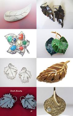 Nature - Vintage Jewelry from Vjt by moonbeam0923 on Etsy--Pinned with TreasuryPin.com