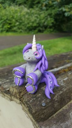 CUSTOM pudgy unicorn by ARAartisticcreations on Etsy