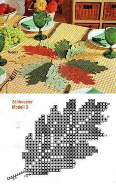 Crochet Mat, Crochet Doily Diagram, Crochet Flower Tutorial, Crochet Flower Patterns, Crochet Home, Thread Crochet, Crochet Blanket Patterns, Crochet Crafts, Crochet Flowers