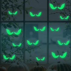 Wall Art - Honana Halloween Fluorescent Glow Furtive Eyes Wall Sticker Home Bedroom Decor - Halloween Decorations Wall Decals Cute Stickers Home - Glow In The Dark Nursery Art ** For more information, visit image link. (This is an affiliate link) Wall Stickers Halloween, Wall Stickers Home, Wall Stickers Murals, Wall Decals, Window Decals, Halloween Vinyl, Window Stickers, Wall Mural, Wall Art