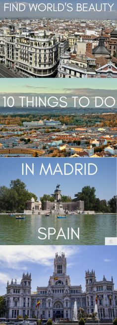 10 Things to do in Madrid, Spain – Find World's Beauty
