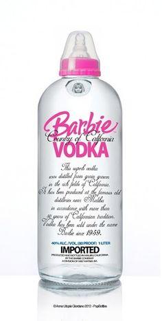 Barbie Vodka perfect for 21st birthday