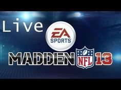 Madden NFL 13 Live Stream with Friend! - http://pintubers.net/madden-nfl-13-live-stream-with-friend/