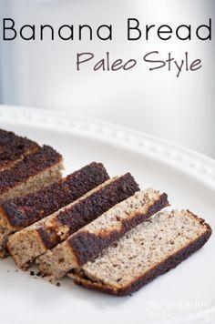Paleo Banana Bread -