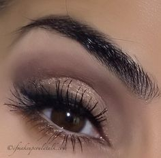 The Vampire Diaries Katherine Pierce Inspired Eye Makeup Tutorial: Finished look with mascara.