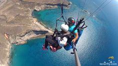 Costa Adeje Paragliding, Tandem, Tenerife, Costa, Animals, Fingers, Animaux, Animal, Animales
