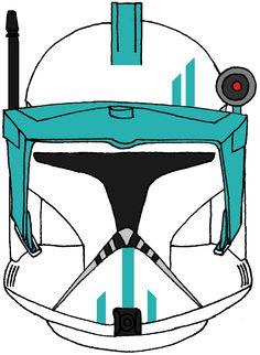 Clone Trooper Commander Rodia Helmet