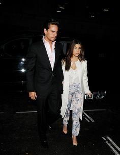 Kourtney Kardashian Slacks - Kourtney Kardashian Looks - StyleBistro