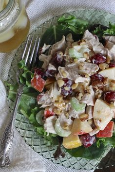 Roast Chicken Waldorf Salad - Brittany's Pantry : Brittany's Pantry