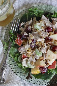 Roast Chicken Waldorf Salad | Brittany's Pantry
