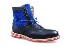 Bowden in Black & Corvette J Shoes, Shoe Boots, Black Corvette, Leather Boots, Hiking Boots, Combat Boots, Men, Explore, Awesome