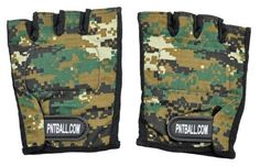3Skull Half Finger Paintball Gloves Woodland Digi Camo - Large by 3Skull. $7.99. Half Finger Digi Camo Paintball Gloves Fingerless Design For Large sized hands Padded Leather Palms Cloth Padded Knuckles Washable Breathable and Flexible cloth material Light weight design