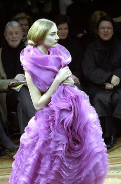 junya watanabe  rocking Radiant Orchid 2014 color of the year