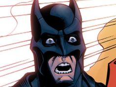 suprised batman