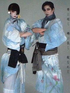 山口小夜子 沢田研二 , Sayoko Yamaguchi & Kenji Sawada