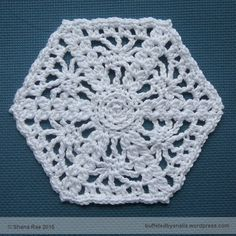 Imogen's Motif - Free crochet pattern by Shana Rae / Buffeted By Snails.