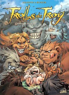 coffret trolls de troy t01 a t04 2006