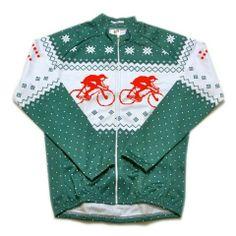 Alpine Green Long Sleeve Christmas Jersey from Hackney GT. 1b51fa359
