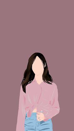 Girly Drawings, Princess Drawings, Portrait Illustration, Character Illustration, Cover Wattpad, Dark Wallpaper Iphone, Cute Couple Art, Digital Art Girl, Book Cover Art
