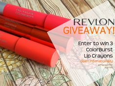 The Happy Sloths: Giveaway: Enter to Win 3 Revlon ColorBurst Lip Crayons! Hair Accessories Storage, Revlon Colorburst, Enter To Win, Beauty Review, Beauty Hacks, Beauty Tips, The Balm, Swatch, Beauty Makeup