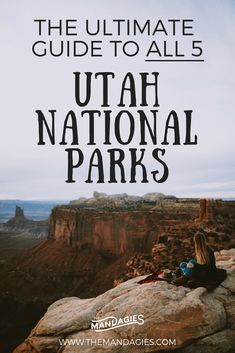 Discover the best route to see all of Utah in one trip! In this post, we're sharing our favorite route through all 5 of the Utah national parks! We'll share with you our driving guide, what to see, and other helpful road trip tips to make this your most adventurous trip in the southwest! #utah #roadtrip #archesnationalpark #canyonlandsnationalpark #zionnationalpark #brycecanyonnationalpark #capitolreefnationalpark #southwest #spring #carcamping #camping #hiking #photography…