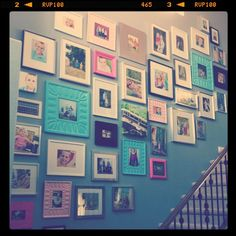 Fantastic wall of photos - love it!