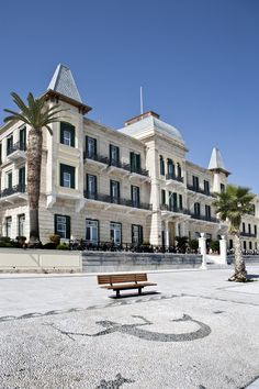 VISIT GREECE| The Poseidonion Grand Hotel has been a landmark on the Spetses skyline for nearly a century with its exceptional architecture echoing hotels of Cote d'Azur style. #Spetses, #island #atticaislands #Argosaronic gulf #greece #attica Attica Greece, Visit Greece, Grand Hotel, Greece Travel, Greek Islands, Travel Around, Benches, Hotels, Skyline
