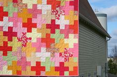 summer sherbet plus quilt- loved making this quilt!!