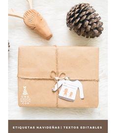 Pack de etiquetas para imprimir navideñas #etiquetasnavidad #ideasnavidad #imprimiblesnavidad