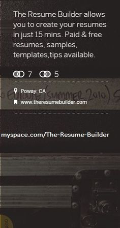The Resume Builder Helps You Build Your Resume With Various Resume Builder  Tools Onsite Both Paid And Free. Resume Templates, Resume Sample/examples,  ...