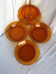 Ciotole di minestra di DuraleX set di 4 piatti di di Frenchidyll