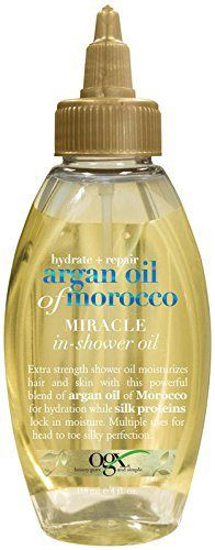OGX Hydrate Plus Repair Argan Oil of Morocco Extra Strength Miraclein Shower Oil, 4 Ounce - http://essential-organic.com/ogx-hydrate-plus-repair-argan-oil-of-morocco-extra-strength-miracle-in-shower-oil-4-ounce/