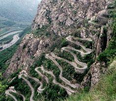 Les lacets de Montvernier en Maurienne seront à l'honneur cet été pendant le Tour de France le 23 juillet 2015