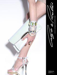 Cango & Rinaldi Image Swarovski, Platform, Heels, Leather, Pictures, Handmade, Image, Fashion, Heel