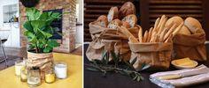 Bolsa de papel lavable Paper Bag Havana de Uashmama para utilizarla como maceta, frutero, bolso, etc. #paperBag #Uashmama #BolsaDePapel #maceta #macetero #frutero #bolso #almacenaje #decoration