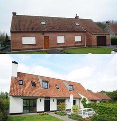 Lofts, Future House, My House, Exterior Makeover, Facade House, House Facades, Scandinavian Home, House Goals, Home Deco