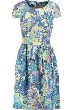 MARY KATRANTZOU Julianne Printed Shell Dress. #marykatrantzou #cloth #dress