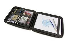 Anyone looking to get this illustrator a gift for his upcoming birthday can get me one of these…I could wait (on pins and needles!) until September for it to arrive! || http://www.creativebloq.com/creativity/ultimate-sketching-satchel-61515389?utm_source=Adestra&utm_medium=email&utm_campaign=12143&utm_term=5078721&utm_content=33164