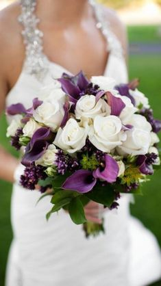 Purple bouquet #aislestyle #davidsbridal Enter the Aisle Style Sweeps for a chance to win up to $3,000 in gift certificates from David's Bridal & @Helzberg Diamonds Diamonds Diamonds! Enter now thru 9/2: sweeps.piqora.com... Rules: sweeps.piqora.com...