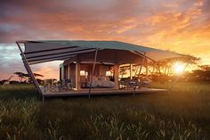 Roving Bushtops, Serengeti, Kenya.  Opens January 2015. Having pioneered the idea of 'wild luxury' at Mara Bushtops, then extended it to Serengeti Bushtops, this third outpost is in the Central Serengeti, not far from the Moru Kopjes.