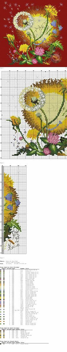Scheme for bags / Embroidery / embroidery cross schemes