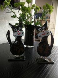 cute cats and other animals ... Glaspuzleriet ..... - www.annifabricius.dk