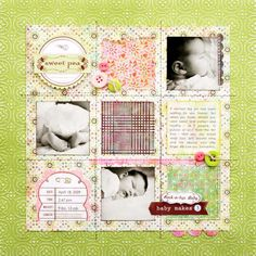Kelly Goree - Beautiful layout.  Definitely want to scraplift this one