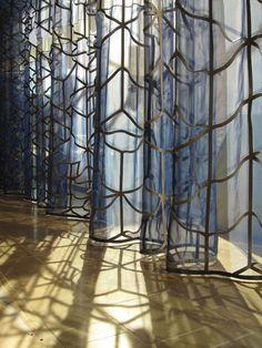 Petra Blaisse curtains, Chazen Museum, University of Wisconsin, Madison