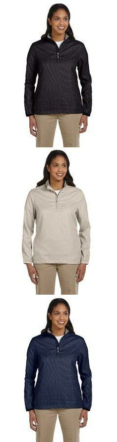 Ladies Houndstooth Half-Zip Jacket Khaki - Xl Brand Name: Ashworth Mfg#: B016AWAY6. Shipping Weight: 0.87 lbs.  #Ashworth #Single_Detail_Page_Misc