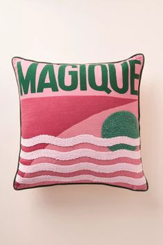 Hotel Magique for Anthropologie Douillet Pillow | Anthropologie Anthropologie Uk, Next At Home, Best Brand, Paper Goods, How To Fall Asleep, Decoration, Home Furnishings, Bed Pillows, Cushions